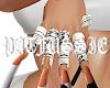 chrome heart rings