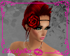 !Cs Rose Head Band Red