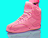 $$ PINK LEATHER RARE