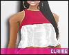 C|2Color Crop Top V2