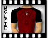 Webbed Tee  Red