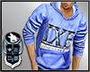 IXE Blue Hoody