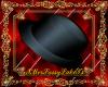 (F) Black Silk Fedora