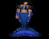 blue mermaid kitty