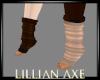 Bipolar brown socks