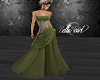 Glistening Green Gown