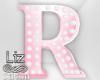 Baby Shower letter R