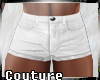 (A) Sexy Shorts White