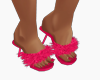 Hot Pink Boudior Slipper