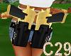 (C29) GOLD DUAL GUNS MAN