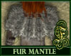 Fur Mantle Gray