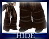 [H] Fur boots brn
