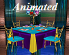 Colorful Dinner Table