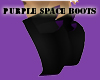 Purple Space Boots