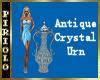 Antique Crystal Urn