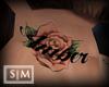 [SM] Amber Neck Tattoo