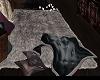 *MM* grey soft area rug