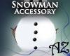 *AZ* Snowman Buttons