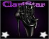 Gothic Black Heels