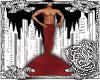 {E}Red Merman Tail