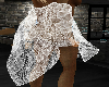 Laced Shawl white