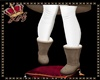 llKNZ*Beige boots winter