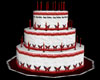 Happy Bday Cake Red