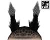 ~F~ BW Giraffe Horns