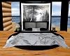 Grey/Black cuddle bed