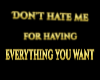 LWR}Don't Hate MeSticker