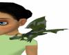 Camo Shoulder Dragon