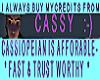 Cassy Referral