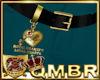QMBR Belt RL Royal Hrts