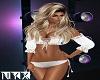 Frilly White Bikini