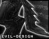 #Evil Black Wolf Tail