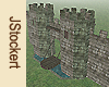 Animated Mossy Castle