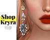 #K. Zora Gems Earrings