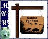 Custom Cabin Sign