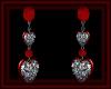 Diamond Heart Earrings R