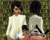 Female Suit Top - Lemon