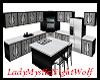 Black-White-Grey Kitchen