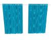 Jag-Teal Curtains