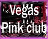 Vegas pink club booth