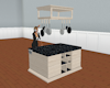 Island w/Pot Rack (BLK)