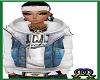 Stem Hoodie with vest