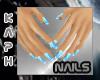 Small Hands Green nails