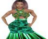 Elegant Green Mermaid