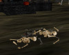!Halloween Skeleton Pile