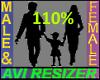 Avi Scaler 110%