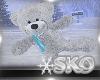 *SK*WINTER SKATE BEAR